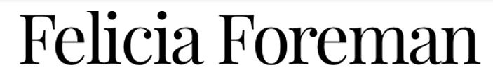 Felicia Foreman