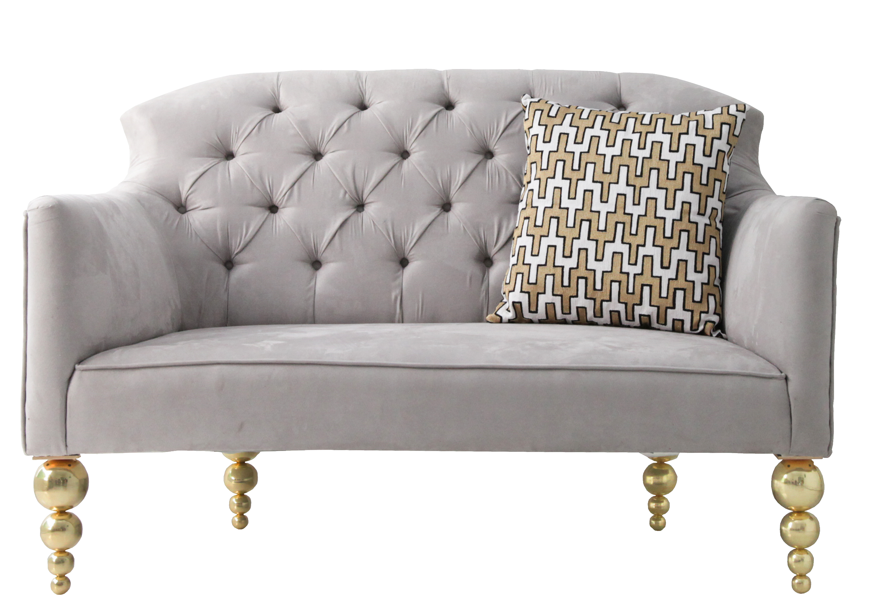 Aurum Home - Beaded Sofa