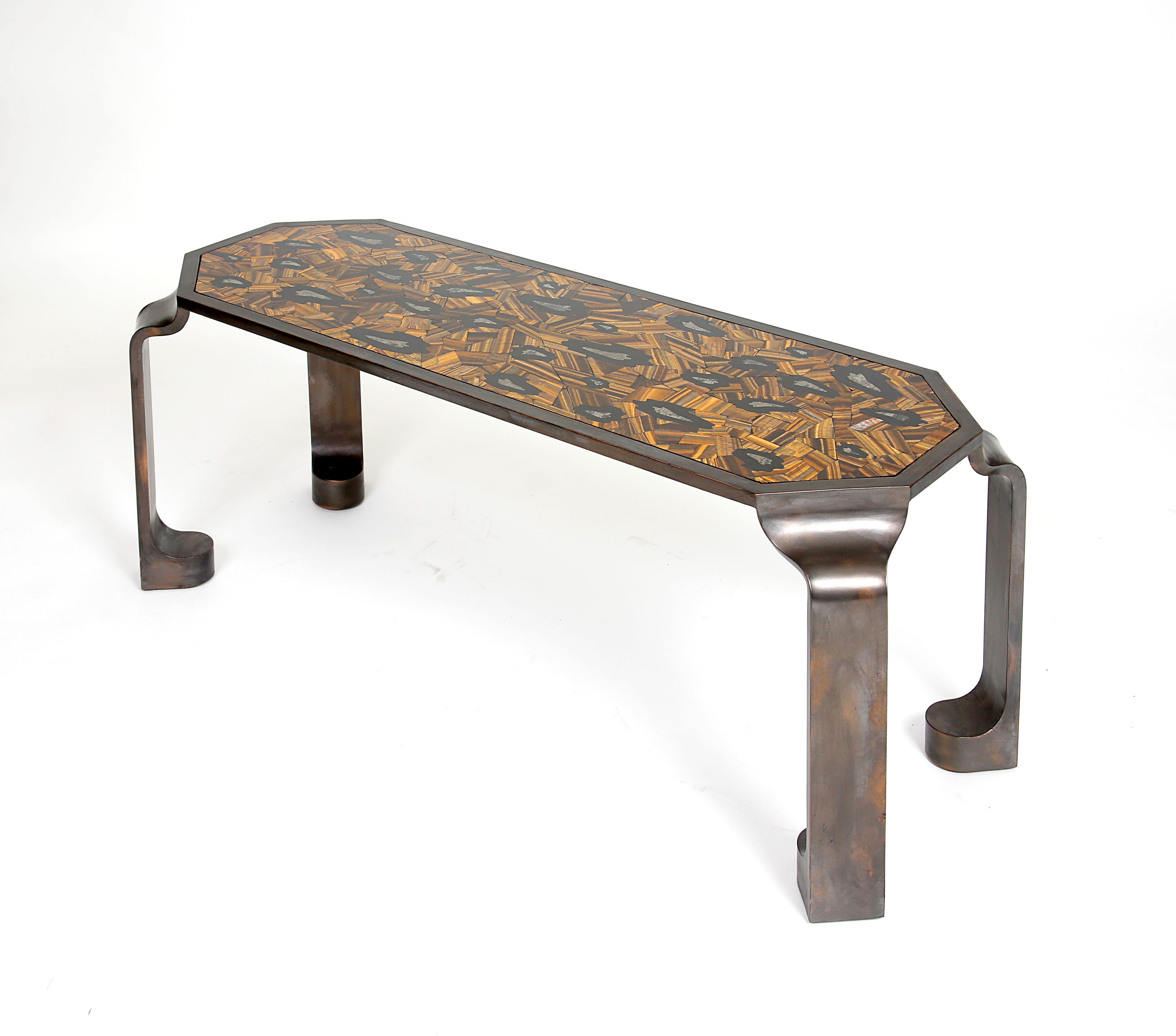 Lambart & Browne - Leopard Drinks Table