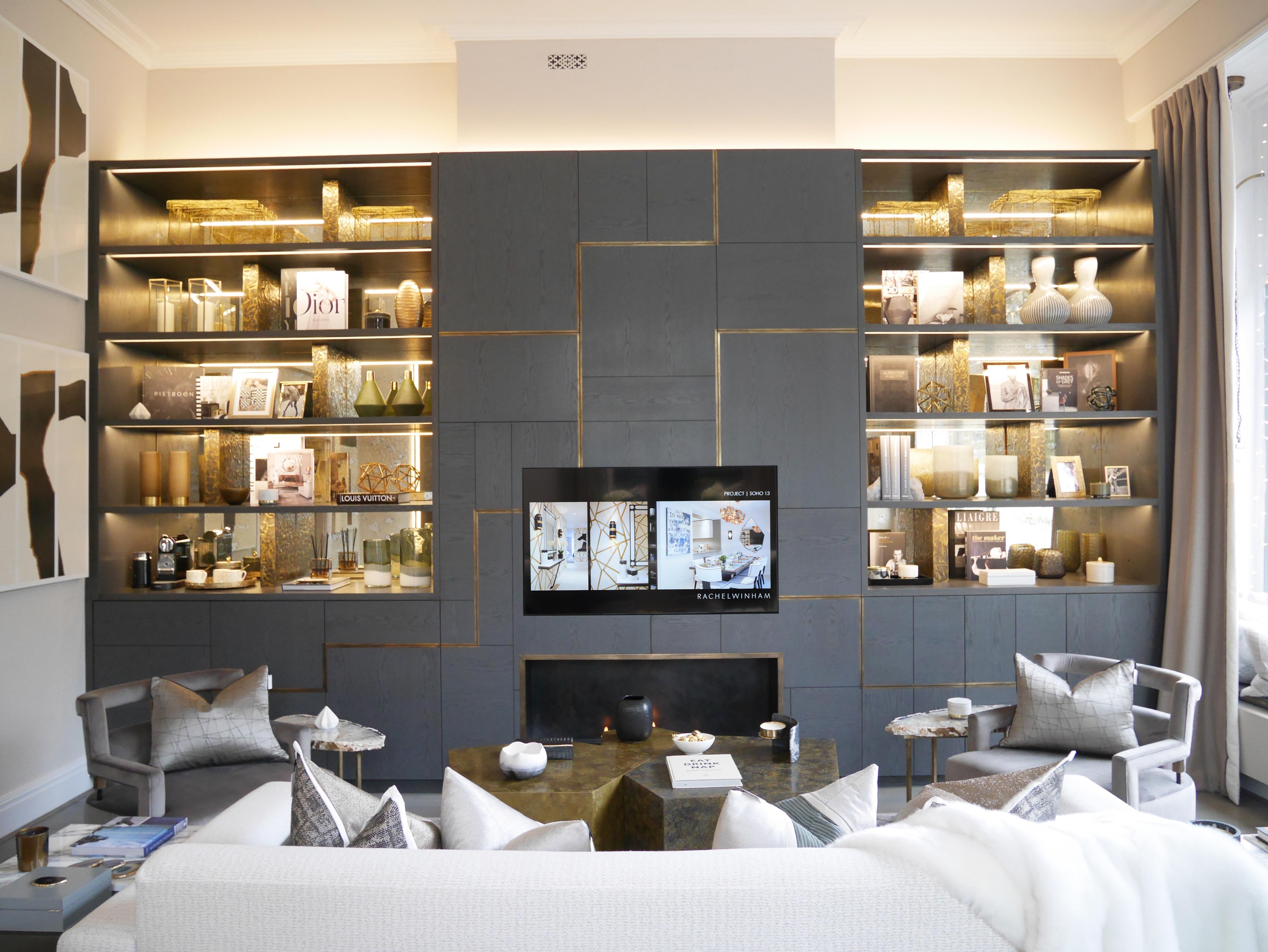 Rachel Winham Interior Design - Bespoke Cabinetry