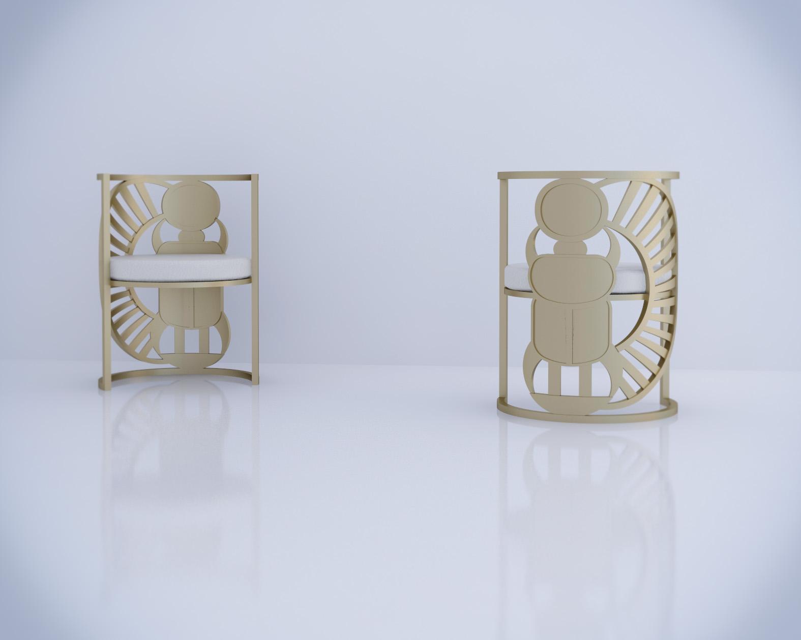 Shosha Kamal Design House - The Scarab Chair