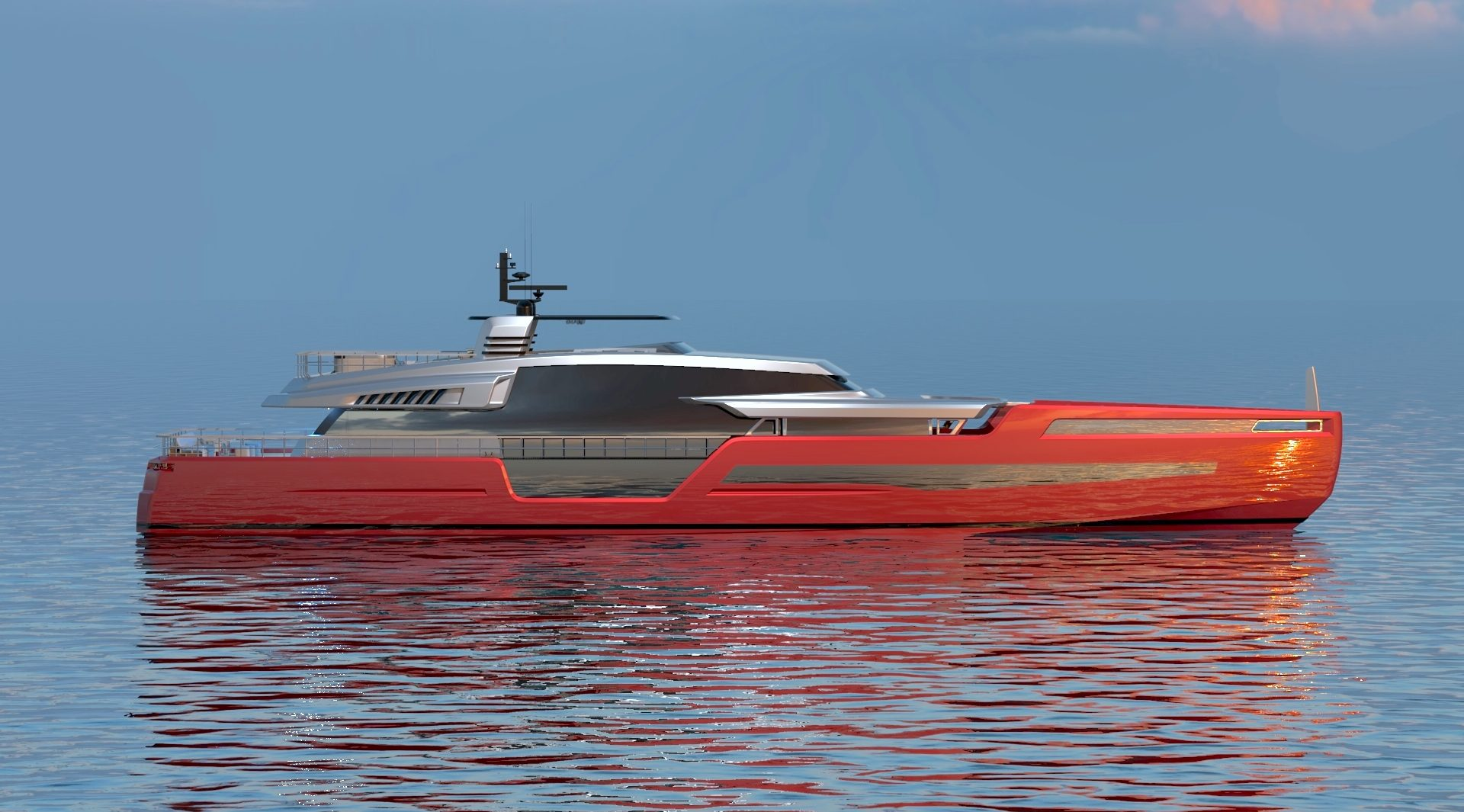 Roberto Curto Yacht & Design - MY 40 Metre