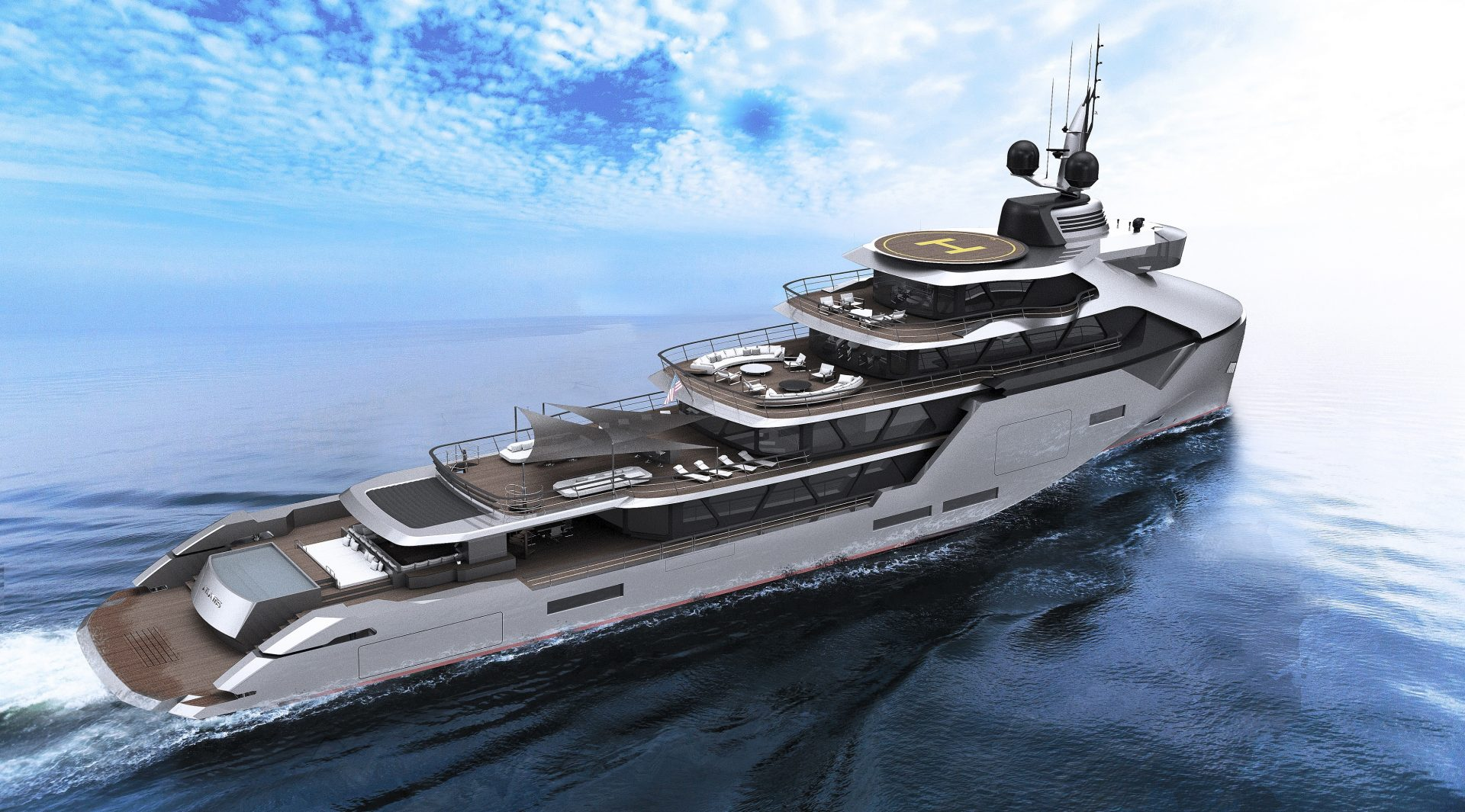 X Yacht Design - Atlantis