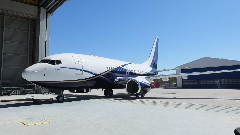 Boeing Business Jets - BBJ Demonstrator