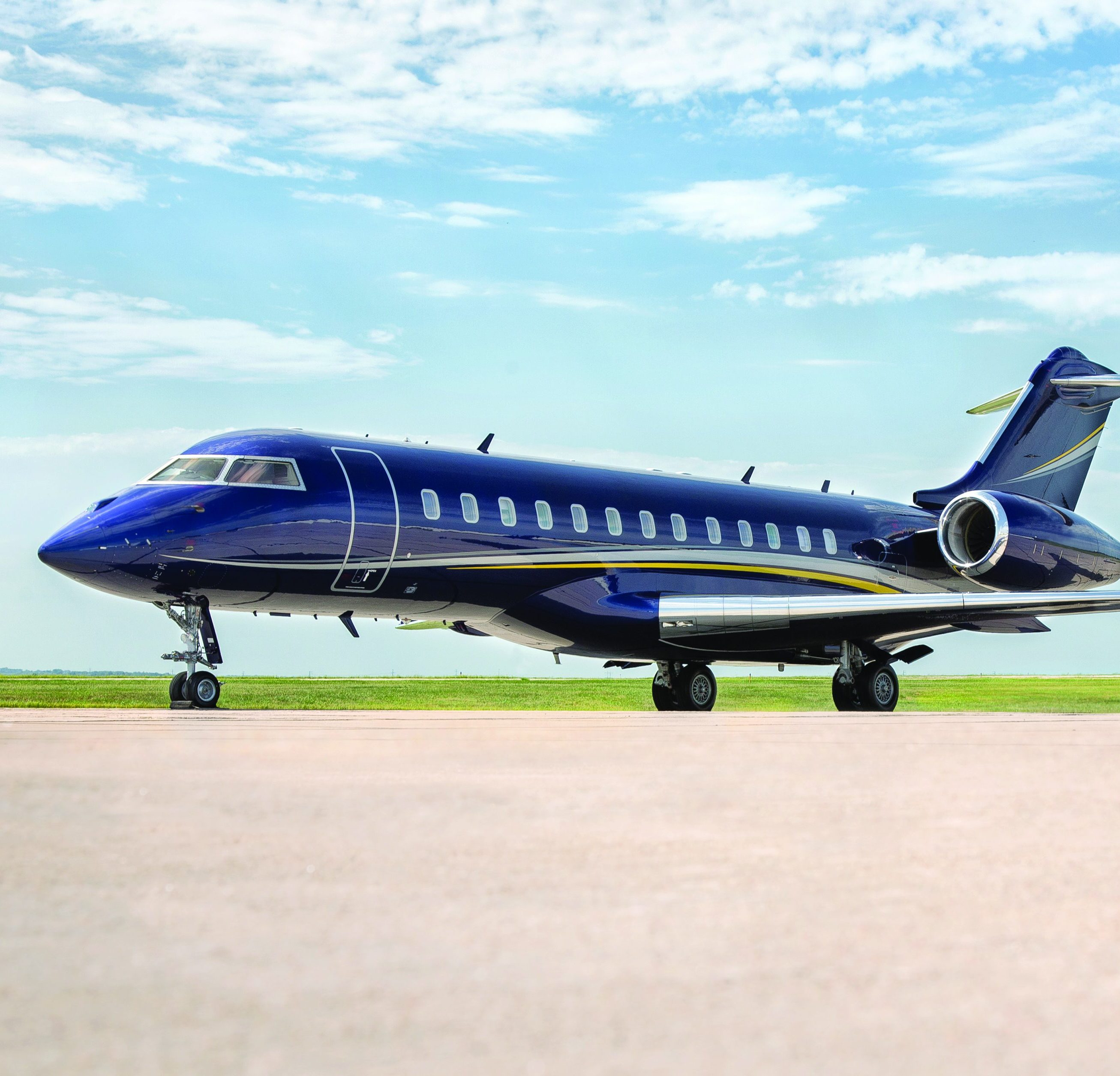 Duncan Aviation - CContemporary Bombardier Global Express Completion
