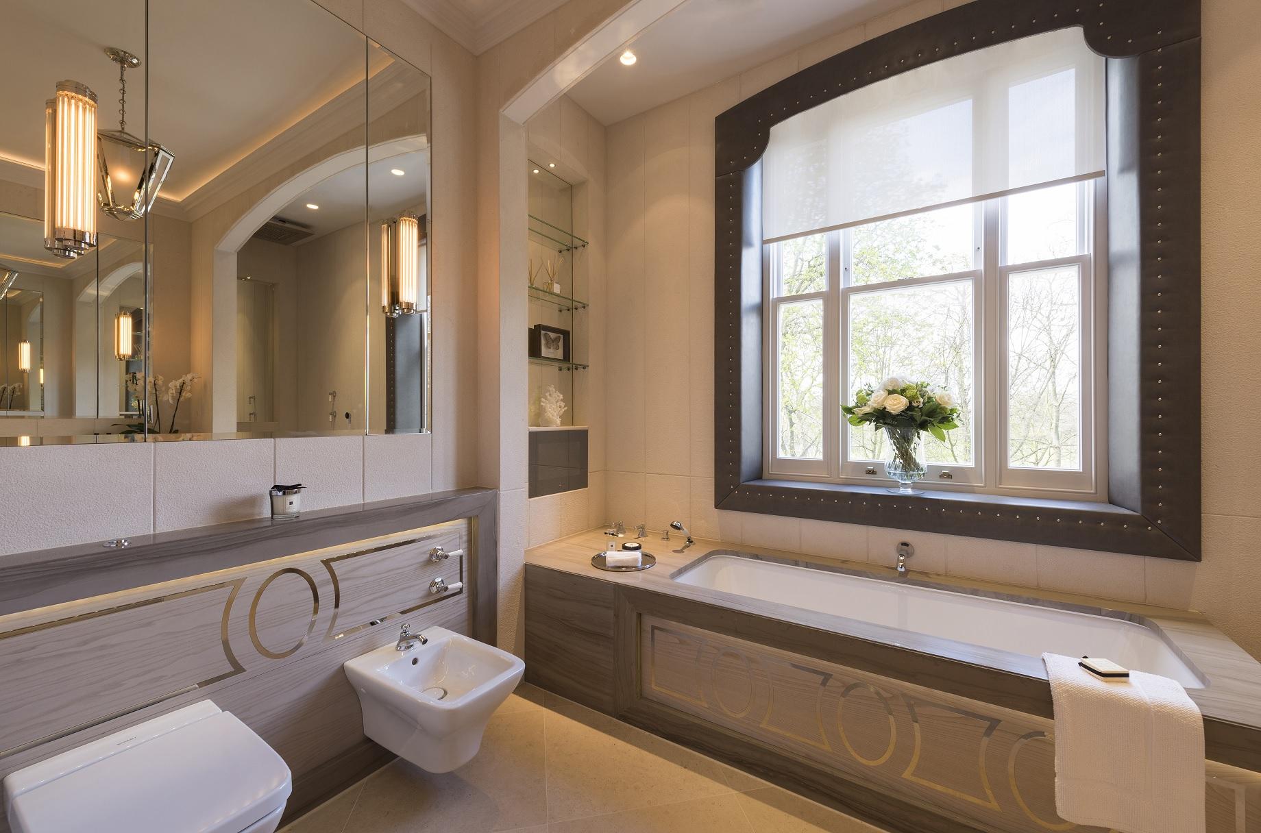 Lambart & Browne - Phillimore Gardens Bathroom